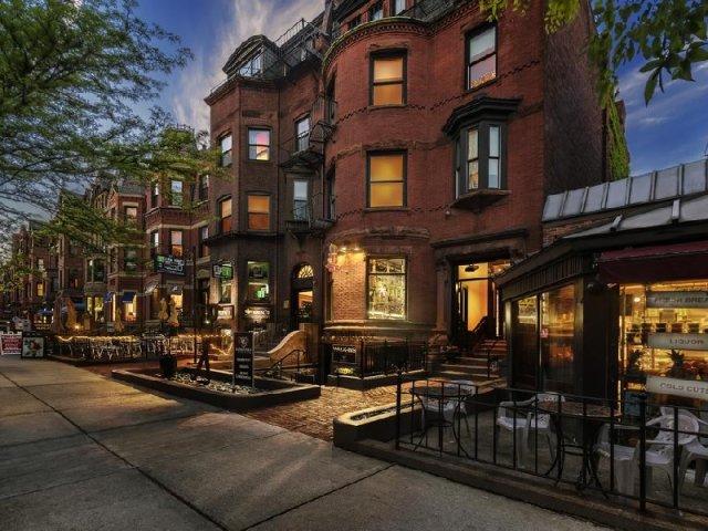 Newbury Street em Boston