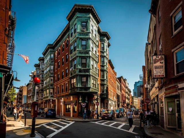 North End em Boston