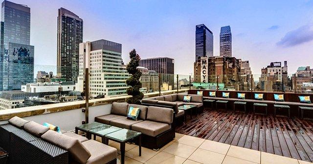 Bar Monarch Rooftop Lounge em Nova York