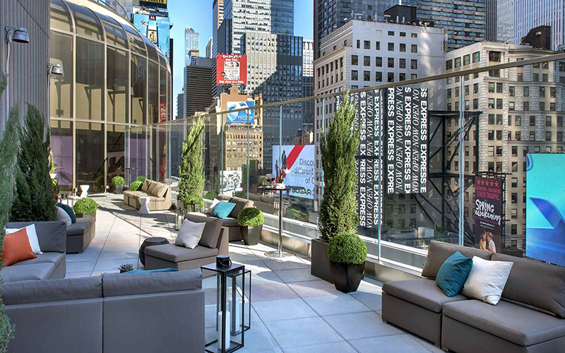 Bar Monarch Rooftop Lounge em Nova York