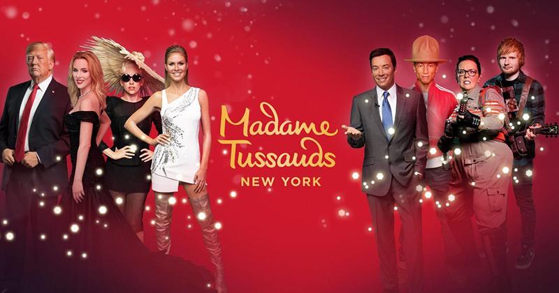 Ingressos para Museu de cera Madame Tussauds em Nova York