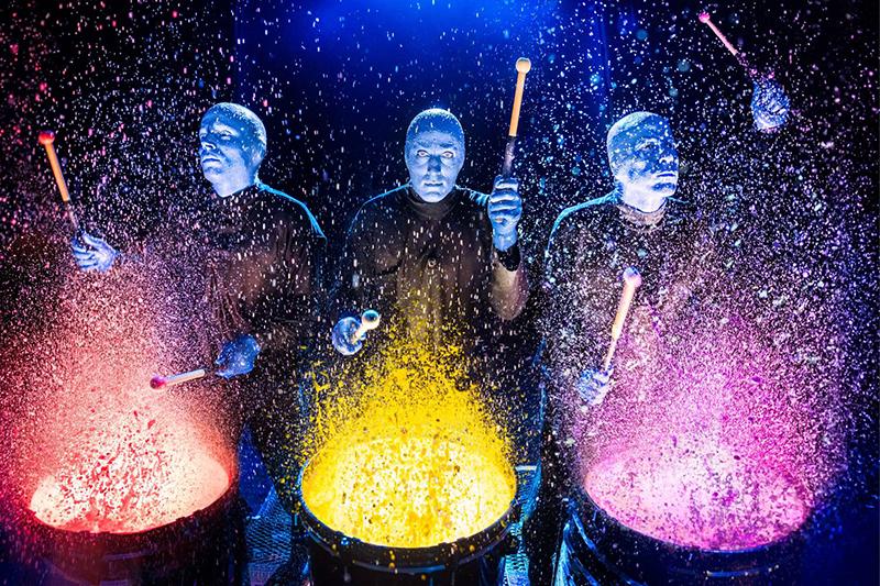 Ingressos para o Show do Blue Man Group em Nova York