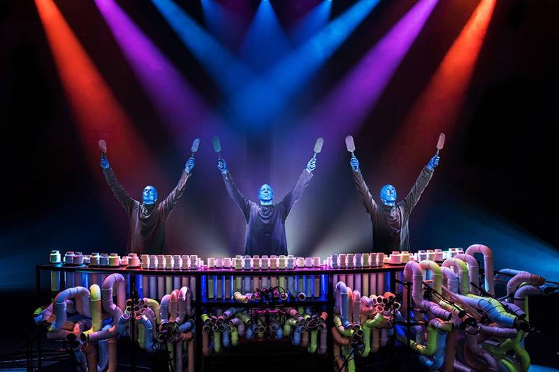 Show do Blue Man Group em Nova York
