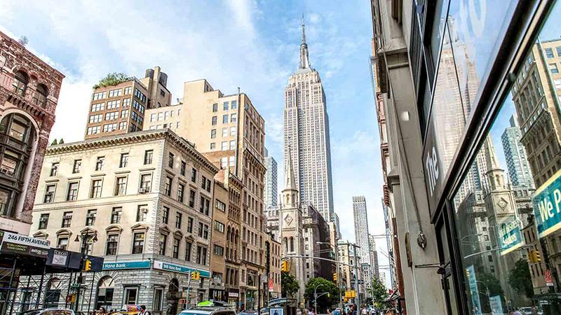 Edifício Empire State Building em Nova York