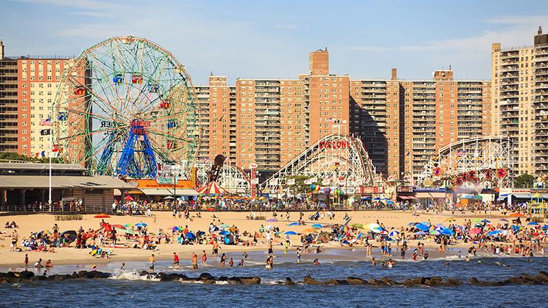 Luna Park em Coney Island