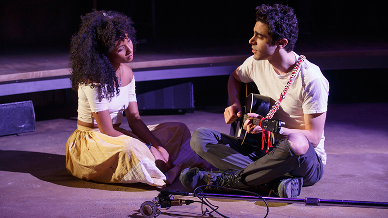 Musical Hadestown em Nova York
