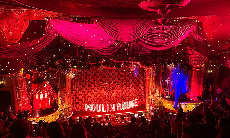 Musical Moulin Rouge em Nova York