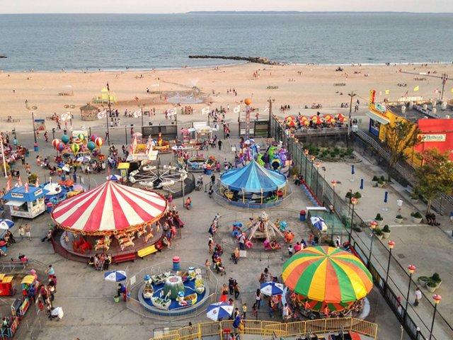 O que fazer na Coney Island e na Brighton Beach