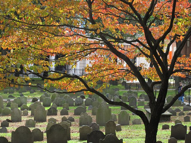 Old Granary Burial Ground em Boston