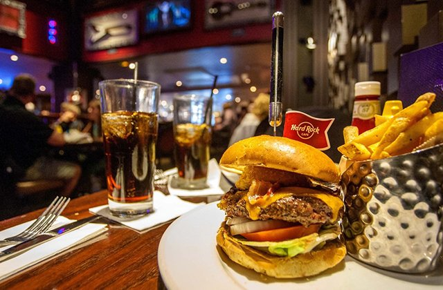 Restaurante Hard Rock Cafe em Nova York