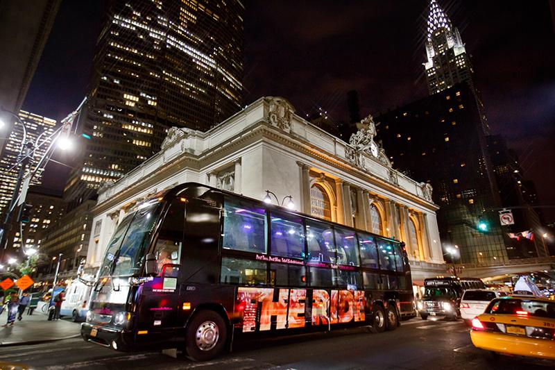 Ingressos para The Ride em Nova York