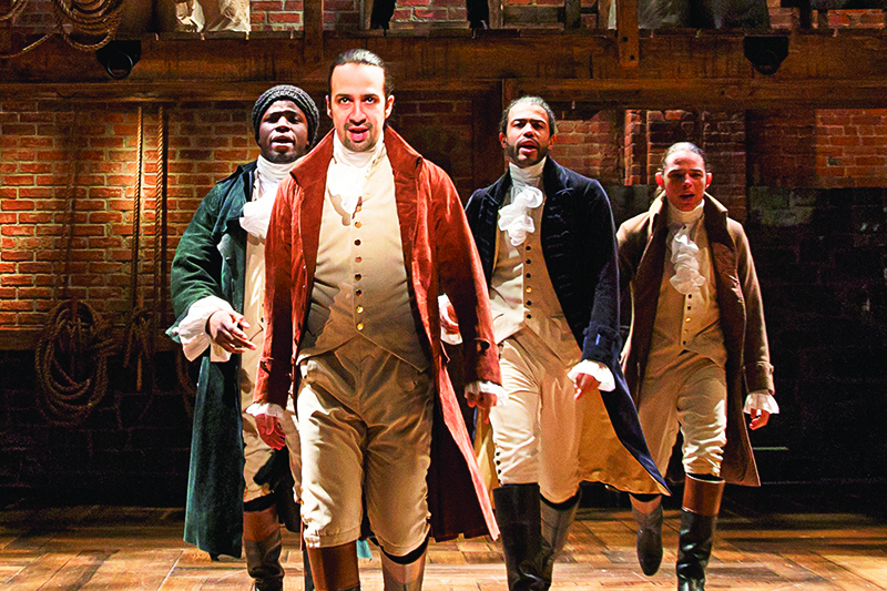 Musical Hamilton em Nova York