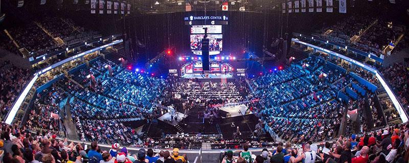 Arena Barclays Center em Nova York