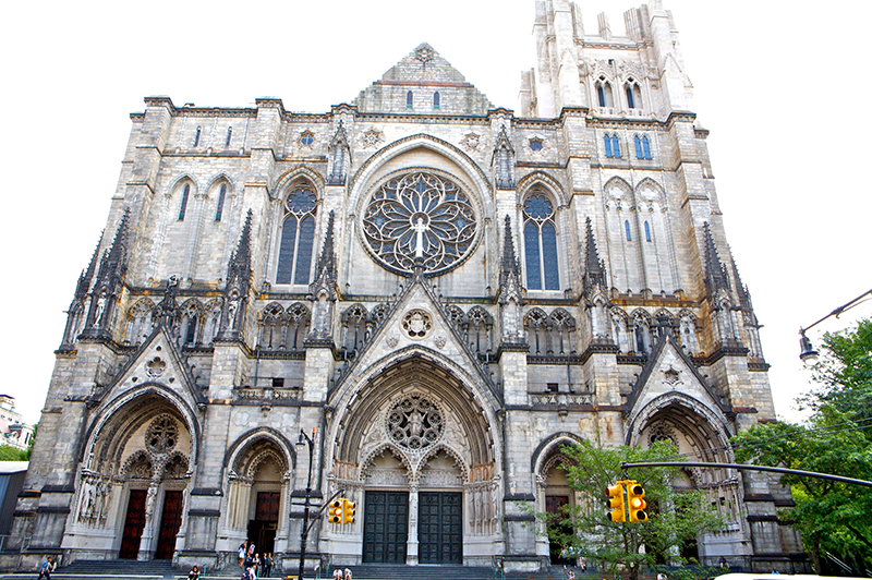 Cathedral Church of St. John Divine no Harlem em Nova York