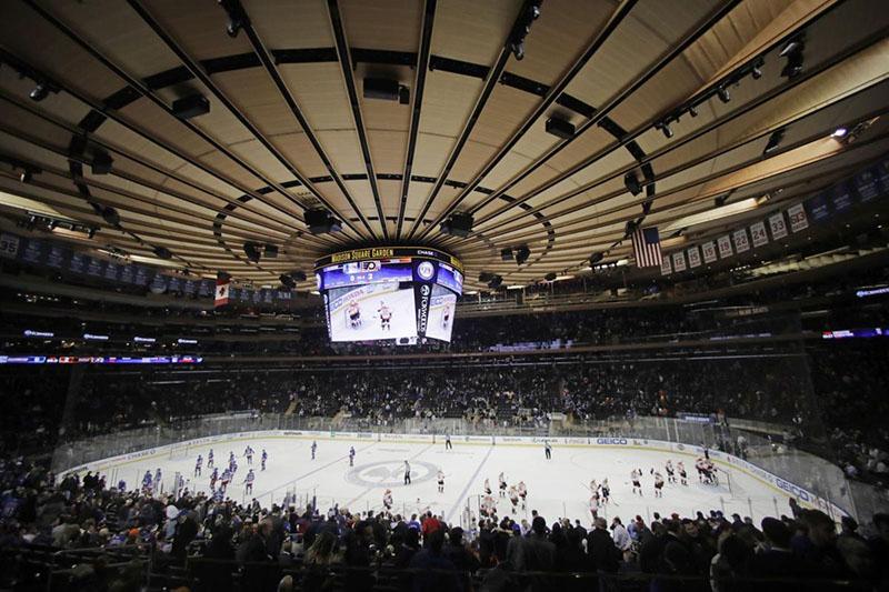 Quando assistir ao hockey no gelo em Nova York