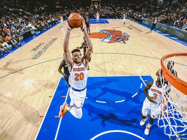 Jogos de basquete em Nova York