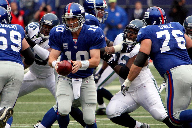 Jogo do New York Football Giants em Nova York