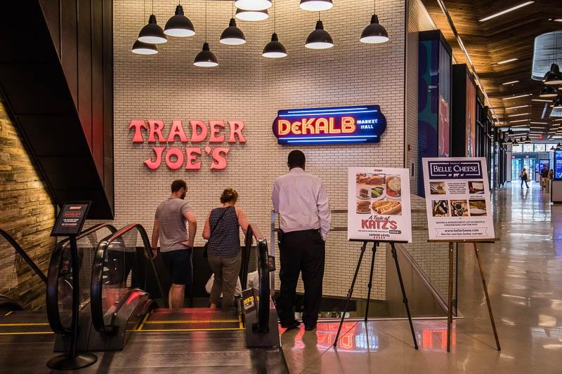 Dekalb Market Hall no Brooklyn em Nova York