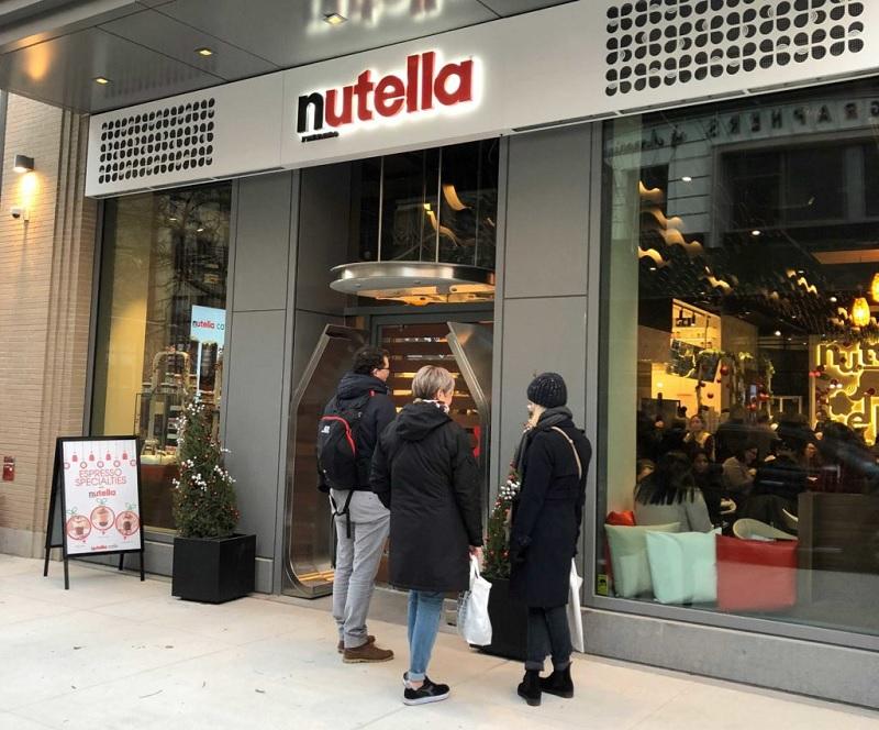 Nutella Café em Nova York