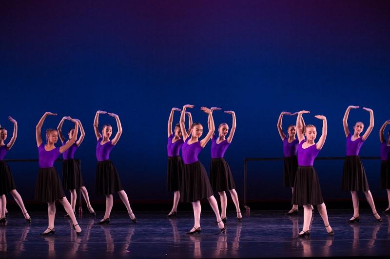 Espetáculo de ballet em Nova York